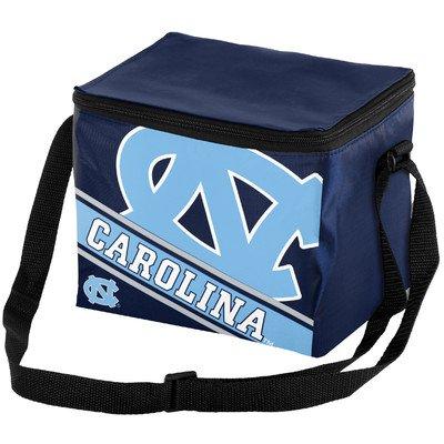 North Carolina Big Logo Stripe 6 Pack Cooler
