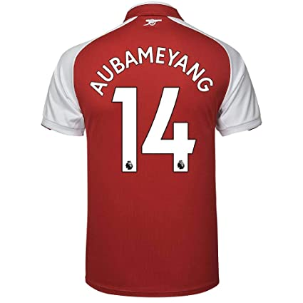 c8e30e53f PUMA Arsenal Home Aubameyang Jersey 2017 2018 (Authentic EPL Printing) - S