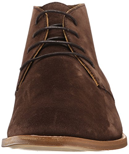 Sebago Mens Collier Chukka Boot Dark Brown Suede