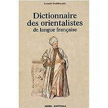 Dictionnaire des Orientalistes de Langue Francaise