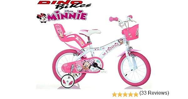 Ciclos Puzone bicicletas 14 minnie Dino Bikes Art. 614-nn: Amazon ...