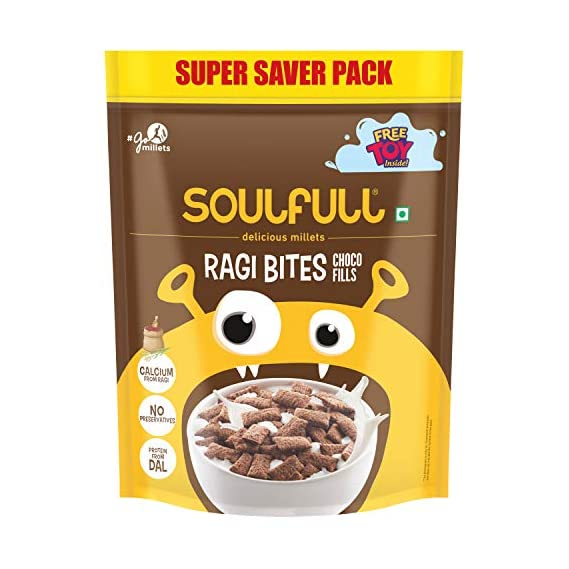 Soulful Ragi Bites with Choco Fills Combo Pack, 1kg