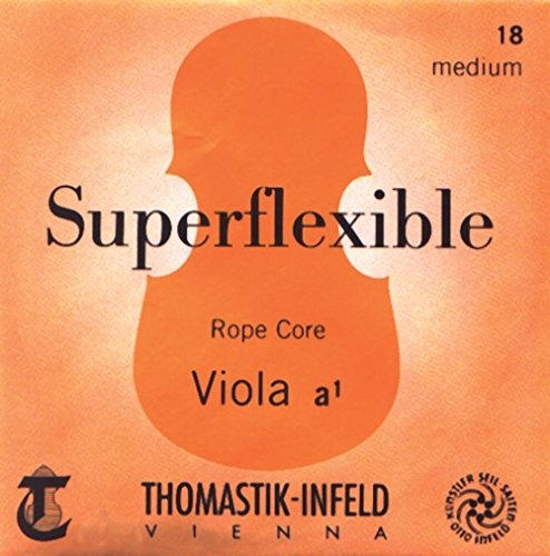 Thomastik-Infeld 20ST Superflexible Viola String, Single G String, 4/4 Size, 20, Stark (Heavy) Tension, Steel Core Chrome Wound