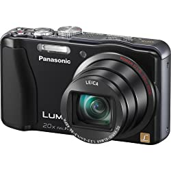Panasonic Lumix ZS20 14.1 MP High Sensitivity MOS Digital Camera with 20x Optical Zoom from Panasonic