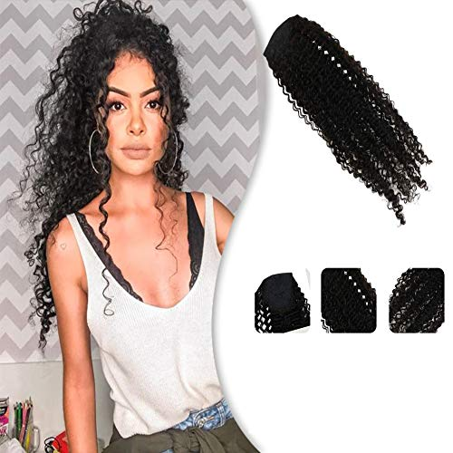 YoungSee 24inch Kinkys Ponytail Extensions