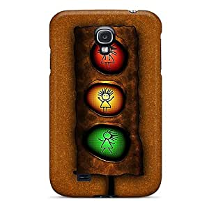 Galaxy S4 Ydx3133lvhv Traffic Light Tpu Silicone Gel Case Cover. Fits Galaxy S4