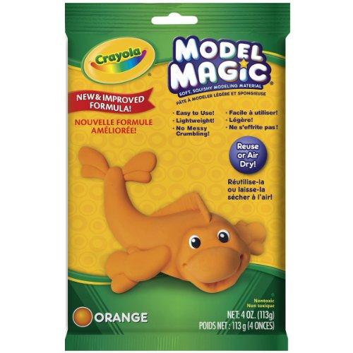 Crayola Model Magic 4-Ounce, Orange ()