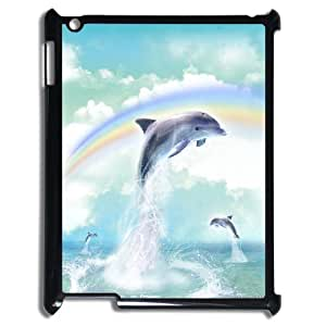Cheap Dolphins at oceans Case Cover Best For Ipad 2/3/4 Case FBGH-T493831