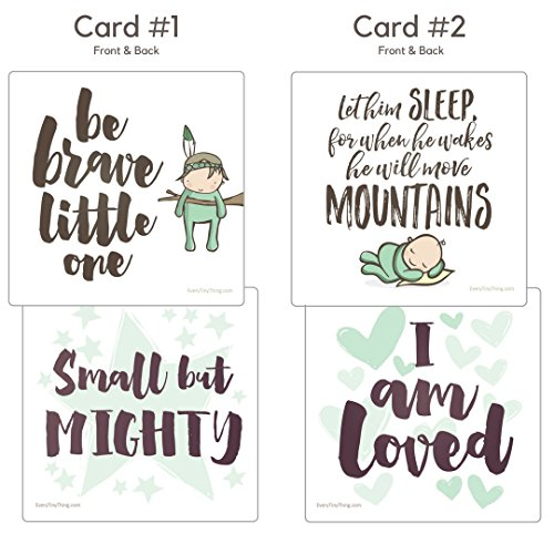 NICU Crib Art from Every Tiny Thing - Decorate Your Baby's NICU Space with Adorable Prints - Brave Boys by Every Tiny Thing (Image #1)
