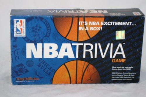 Official NBA Licensed NBA BASKETBALL TRIVIA -