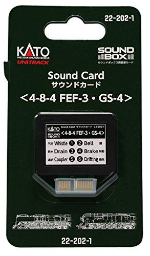 Kato KAT222021 Sound Card, FEF-3/GS-4 (Kato Radio)