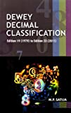Dewey Decimal Classification, M. P. Satija, 817000683X