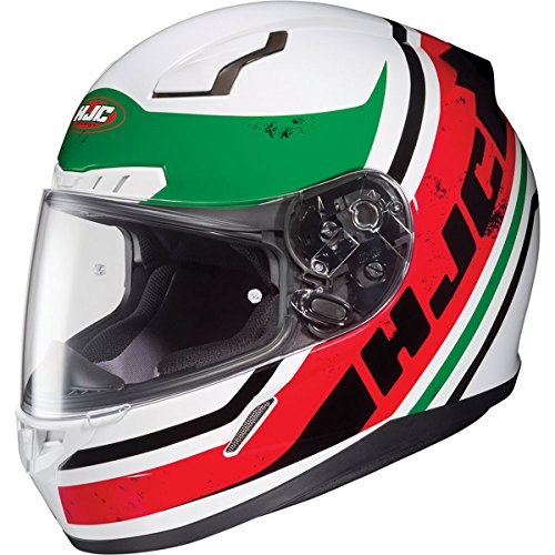 HJC Victory Mens CL-17 Sports Bike Motorcycle Helmet - MC-1 / Large