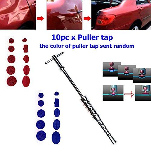 FidgetFidget Car Body Paintless Hail Dent Repair PDR Tool T Bar Slide Hammer Glue Tabs Puller by FidgetFidget (Image #1)