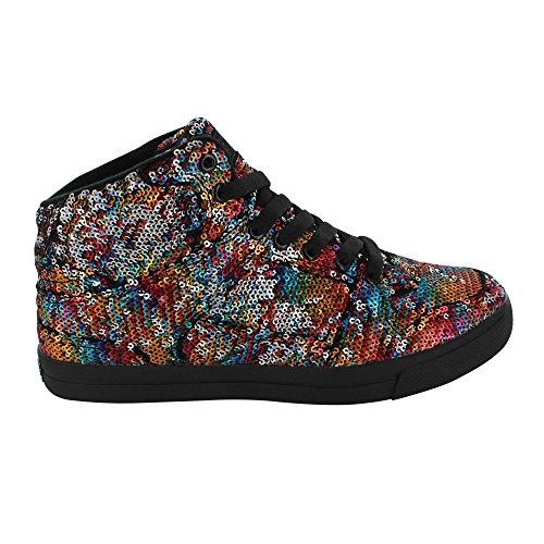 Gotta Flurt Hip Hop II Girls Multi Black Dance Lifestyle Competition Shoe - Size 1 by Gotta Flurt