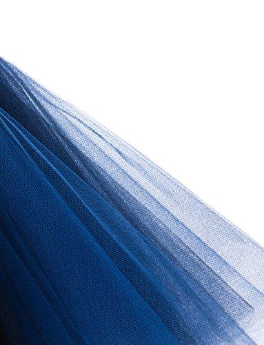 sous Petticoat courtes Femmes jupe Bubble Tutu des Noir Ballet Crinoline BeiQianE Bleu jupes Vintage 50 jupes annes multicouches Xdzxqw8