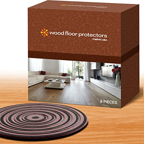 Furniture Pads, Furniture Feet Set of 8, 4 Inches Square or Round 3/16 Inches Thick Wood Floor Protectors