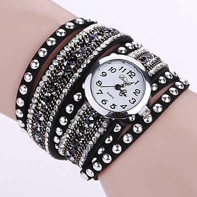 Fashion Watches Relojes Mujer 2016 Fashion Women Watches Bracelet Leather Watch Strap Weaving Dress Digital Watch