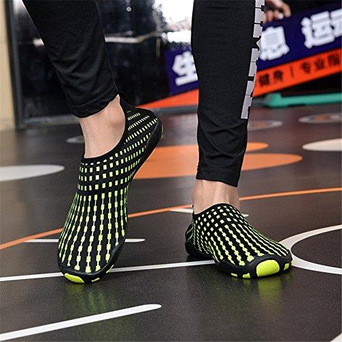 Deportes Zapatos aire libre Zapatillas descalzos Cómodo F de Shoesshoes Amantes ligeros natación Aqua Zapatos al SHINIK antideslizantes Zapatos xqFSPwA