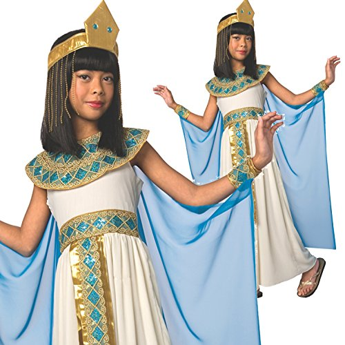 [Girls Egyptian Queen of the Nile Cleopatra Costume - 5 Piece Quality Costume] (Women In History Costumes)