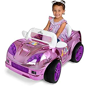 disney princess convertible car 6 volt battery On disney princess motorized car