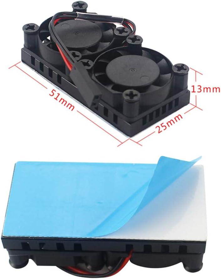 Dual Fan with Heatsink /… for 3B+ LANDZO Raspberry Pi 3 B