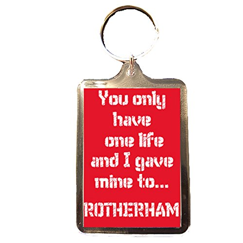fan products of Rotherham United F.C - One Life Keyring