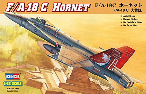 Hobby Boss F/A-18C Hornet Airplane Model Building Kit for sale  Delivered anywhere in USA