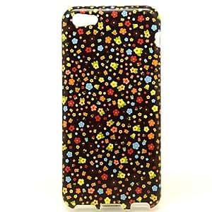 GONGXI- todo tipo de estuche blando patrón de flores pequeño para 5c iphone