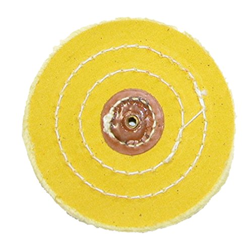 Pro Grade Yellow Treated Muslin Buff Leather Center 86/80 3 Rows Stitched 5