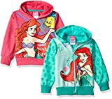 Product review for Disney Girls' Ariel 2 Pack Hoodies