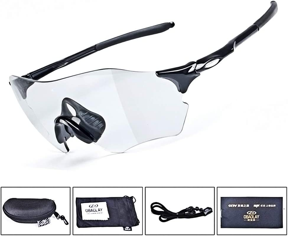 Gafas de Sol Polarizadas para Hombre Lentes Deportivas Conducción Ciclismo Pesca