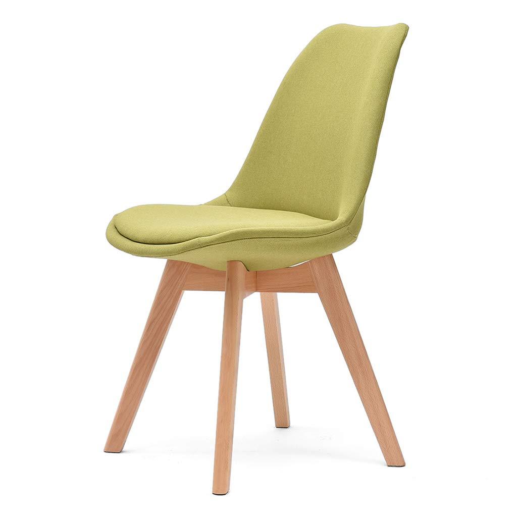 シンプルでモダンな家庭のダイニングチェア北欧のオフィスクリエイティブな木製の机の椅子 (色 : G g) B07MK53LWL G g