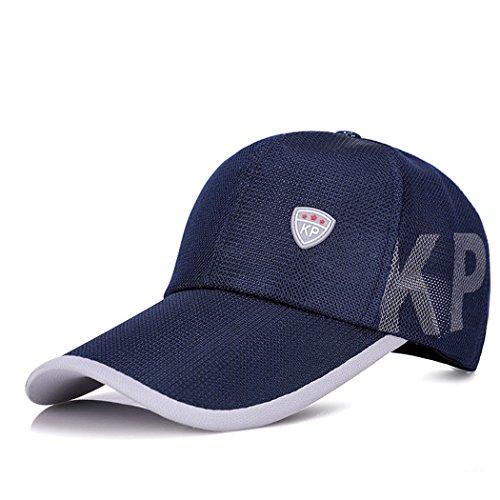 de Escuela de Rápido Aire Secado Libre Gorra de para Deportivo Bufanda Sombrero al Cap Hop Azul Sombrero Sol el de Sombrero Béisbol Sombrero Visera Hip Wy vq48UwYn