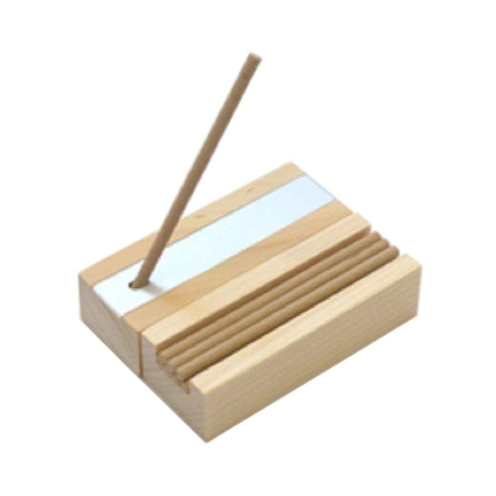 IPPINKA Hinoki Natural Incense + Wood Box Holder