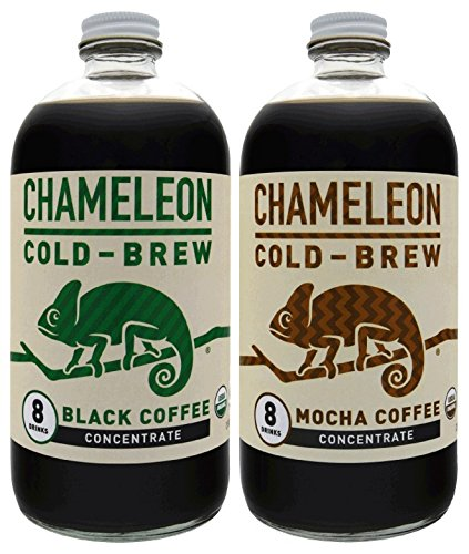 Chameleon Cold-Brew Black & Mocha Coffee Concentrate 2 pack