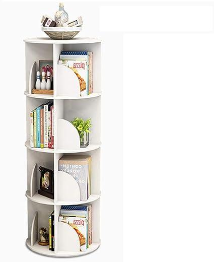 Librerías Estante para Libros Estantería giratoria Creativa ...