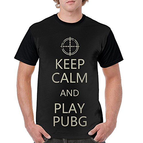 YUMICOO Keep Calm and Play PUBG Men's T-Shirt
