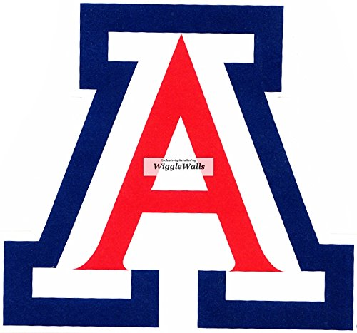 3 Inch Wildcat Logo University of Arizona Wildcats UA AZ Removable Wall Decal Sticker Art NCAA Home Room Decor 3 by 2 Inches