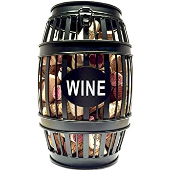 Wine barrel cork cage wine bottling for Wine cork bar top