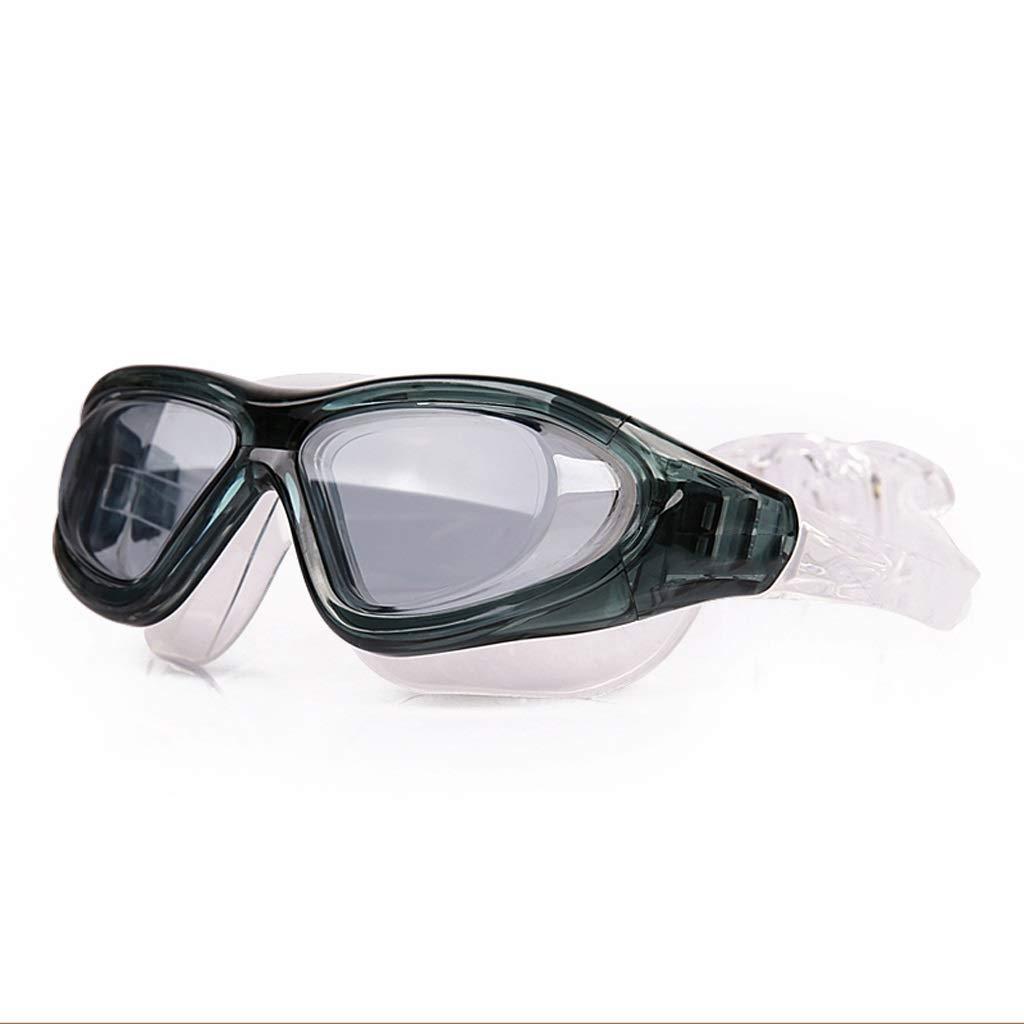 アウトドアスポーツアクセサリー ビッグボックスHDユニセックス防水と防曇ゴーグル (Color : A) A