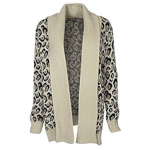 Leopard Print Cardigan: Amazon.com