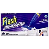 Flash Powermop 12 Refill Cleaning Pads (Pack of 4, Total 48 Pads)