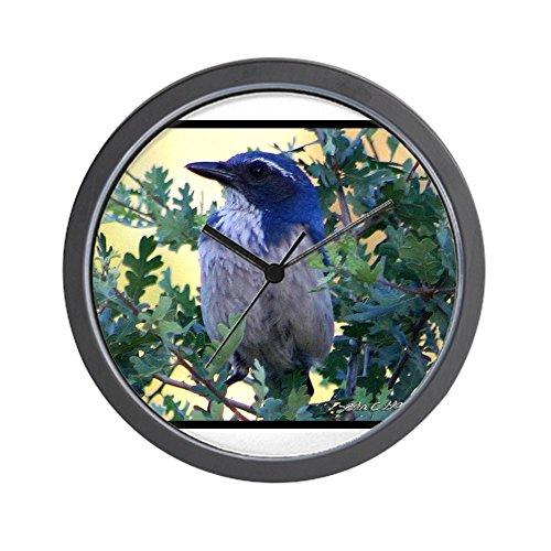 - CafePress - Blue Jay Wall Clock - Unique Decorative 10