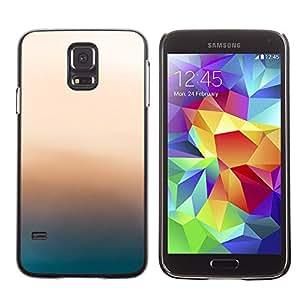 EJOY---Cubierta de la caja de protección la piel dura para el / Samsung Galaxy S5 / --Resplandor Rosa