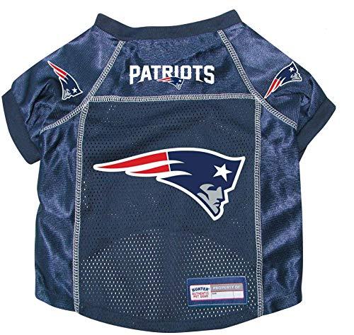 Navy Dog Football Jersey - New England Patriots Pet Dog Football Jersey Alt. Navy XL