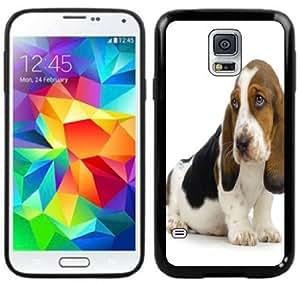 Basset Hound Handmade Samsung Galaxy S5 Black Case
