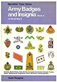 img - for Army Badges and Insignia of World War Ii, Book 2 book / textbook / text book