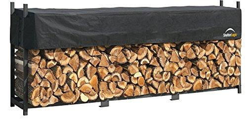 ShelterLogic Ultra Duty Firewood Rack with Cover, 4 ft. ()