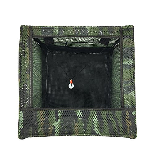 TOPRADE Slingshot Target Box,Recycle The Ammo and Easy to Carry (4040cm)